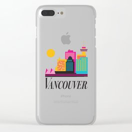 Vancouver Coal Harbour Clear iPhone Case