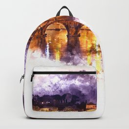 Holy Angel Bridge and St. Peter's Basilica Backpack