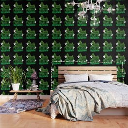 Haunted Victorian House Wallpaper