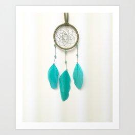 Turquoise Dreamer Art Print