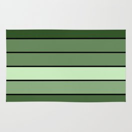 Green Stripes Rug