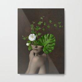 Tropical Girl 1 Metal Print