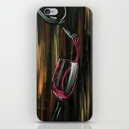 Fine Wine iPhone Skin