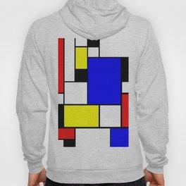 Mondrian Style Hoody