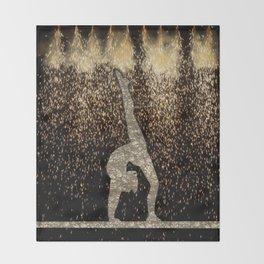 Sparkle Gymnast Throw Blanket