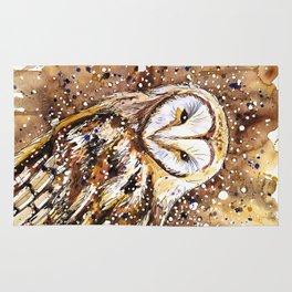 winter's owl Rug