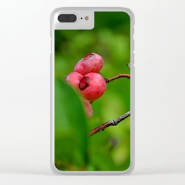 berry brilliant Clear iPhone Case