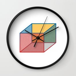Just A Box Wall Clock