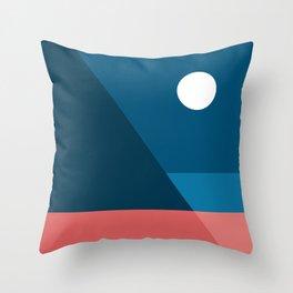 Geometric Landscape 08 Throw Pillow