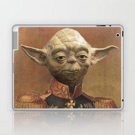 General Yoda Portrait Painting On Canvas | Fan Art Laptop & iPad Skin