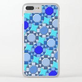 Geometrix 168 Clear iPhone Case
