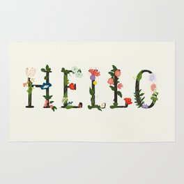 HELLO Rug