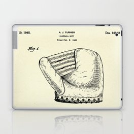 Baseball Mitt-1945 Laptop & iPad Skin