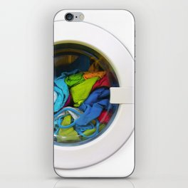 washing machine iPhone Skin