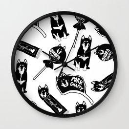 Chappy the Shiba Dog© Assorted Wall Clock
