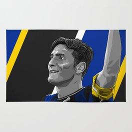 Javier Zanetti - Inter Milan Rug