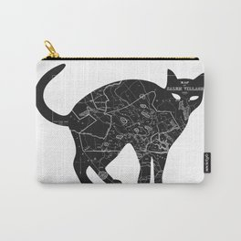 A Familiar Black Cat Carry-All Pouch
