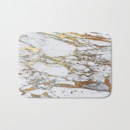 Gold Marble Badematte