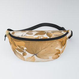 Watercolor Autumn Leaves 2 Fanny Pack