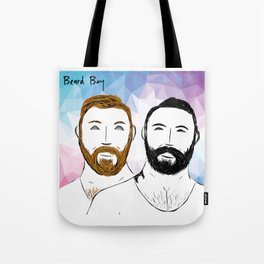 Beard Boy: Buttons and Snaps Tote Bag