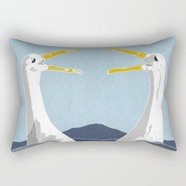 Reunited Rectangular Pillow