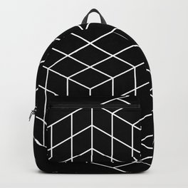 Vasarely cubes Backpack