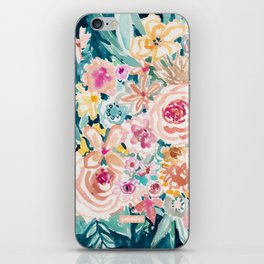 SMELLS LIKE PEACH BEACH iPhone Skin