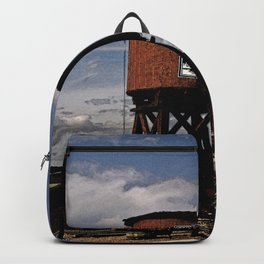 1880 Train Watertower Black Hills Abstract Backpack