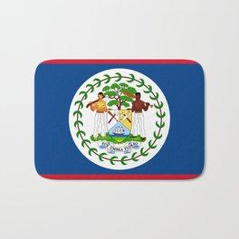 Belize Flag Bath Mat