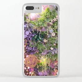 A Florist's Ceiling Garden Clear iPhone Case