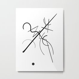 Kandinsky Metal Print