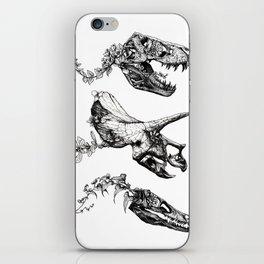 Jurassic Bloom. iPhone Skin