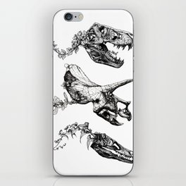 Jurassic Bloom. iPhone Skin
