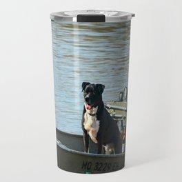 Dog Gone Fishing Travel Mug