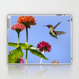 Hummingbird Happiness Laptop & iPad Skin