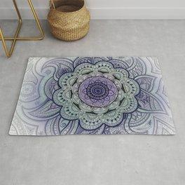 Mandala Violet Rug