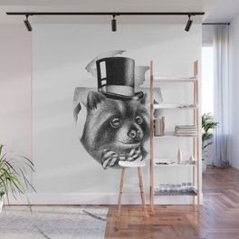 PROPERLY DRESSED FOR A SPECIAL OCCASION Wall Mural