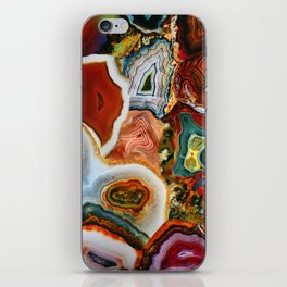 The Earth for the all-pervading Skies, the Moon and the Sun iPhone Skin