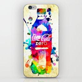 Coke Zero iPhone Skin