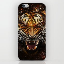 Tiger Roar iPhone Skin