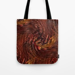 Mixing Copper Metallic Tote Bag