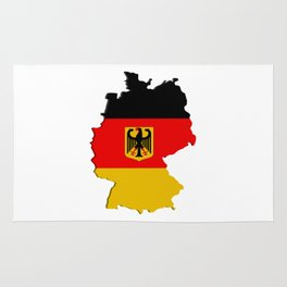 Germany map Rug