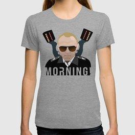 Hot Fuzz - Sergeant Nicolas Angel - Morning! T-shirt