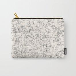 Yoga Manuscript Carry-All Pouch