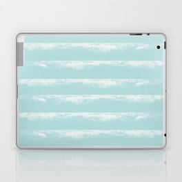 Irregular Stripes Mint Laptop & iPad Skin