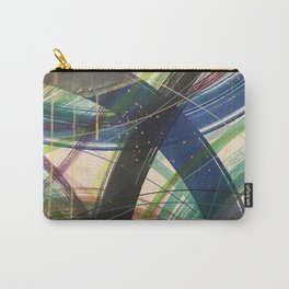 Green Leap Carry-All Pouch
