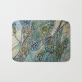 Ocean Botanical Bath Mat