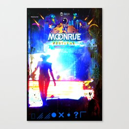 Wicked - MoonRiseFest2017 Canvas Print