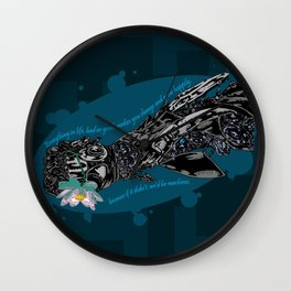 Cybernetic prosthesis Wall Clock