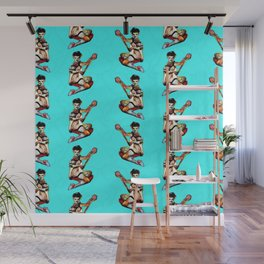Zombie Pin Up Wall Mural
